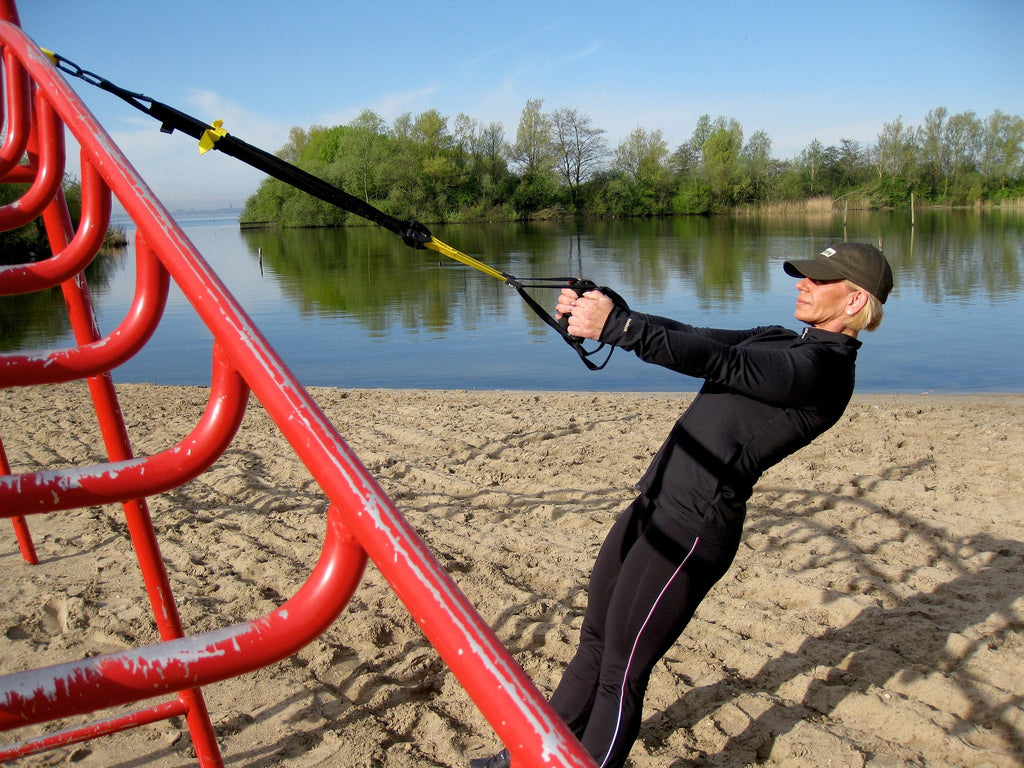 TRX suspension trainer exercise