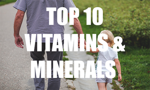 Top 10 Vitamins and Minerals