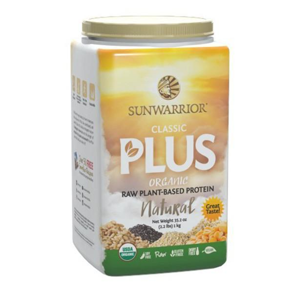 SunWarrior Classic Plus Protein Powder 1kg-Physical Product-Sun Warrior-Natural-Supplements.co.nz