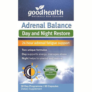 Good Health Adrenal Balance 60 Capsules - Supplements.co.nz