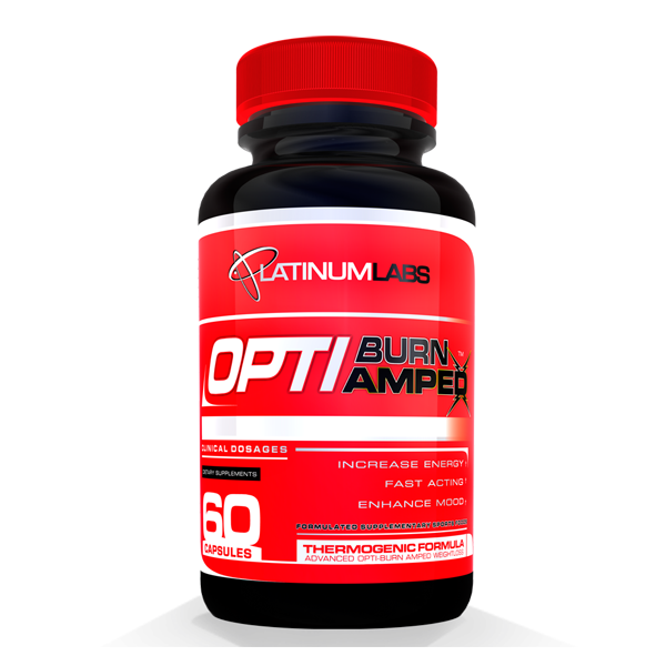 Platinum Labs Optiburn Amped 60 Capsules-Physical Product-Platinum Labs-Supplements.co.nz