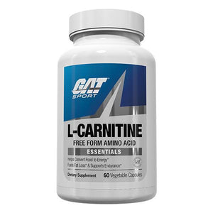 GAT Essentials L-Carnitine 60 Capsules - Supplements.co.nz