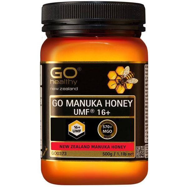 Go Healthy Go Manuka Honey Umf 16+ (Mgo 570+) 500Gm-Physical Product-GO Healthy-Supplements.co.nz
