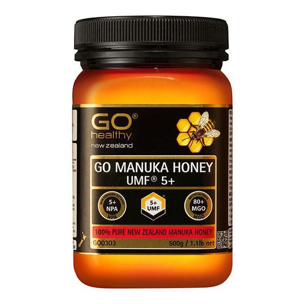 Go Healthy Go Manuka Honey Umf 5+ (Mgo 80+) 500Gm-Physical Product-GO Healthy-Supplements.co.nz