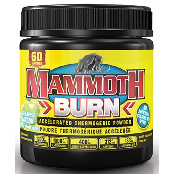 Mammoth Burn Powder 60 Servings - Supplements.co.nz