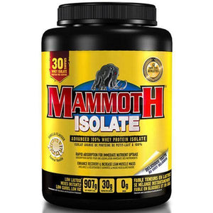 Mammoth Isolate 2lb - Supplements.co.nz
