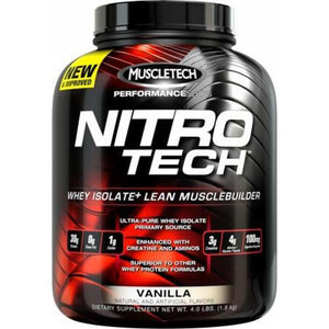 MuscleTech Nitro-Tech 4lb-Physical Product-Muscletech-Vanilla-Supplements.co.nz