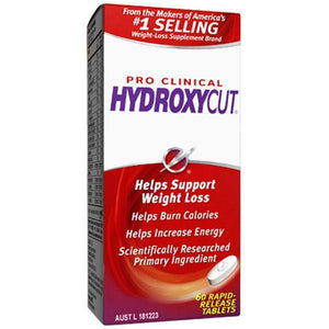 MuscleTech Hydroxycut Pro Clinical 60 Capsules - Supplements.co.nz