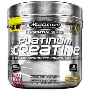 MuscleTech Platinum 100% Creatine 80 Servings - Supplements.co.nz