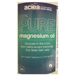 Aciea 100% Pure Magnesium Oil 1.9 Litre - Supplements.co.nz