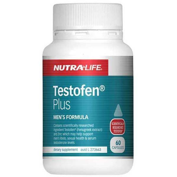 Nutralife Testofen Plus 60 Capsules - Supplements.co.nz
