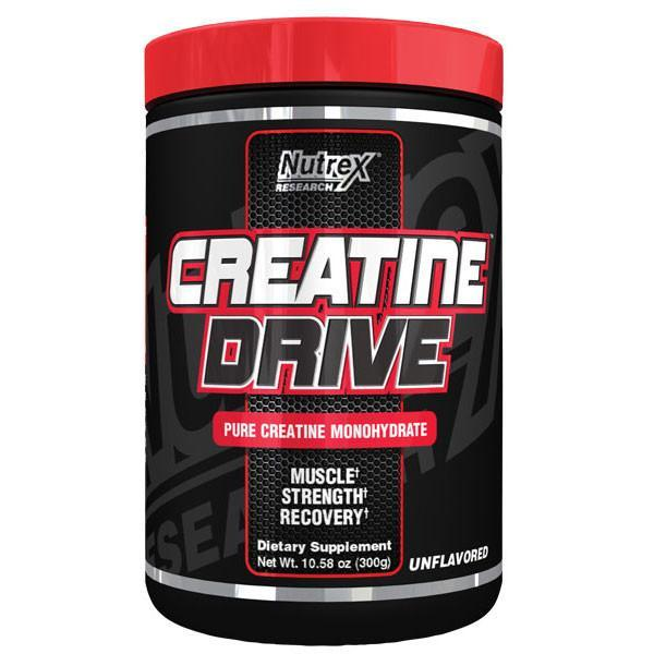 Nutrex Creatine Drive Black 300g - Supplements.co.nz
