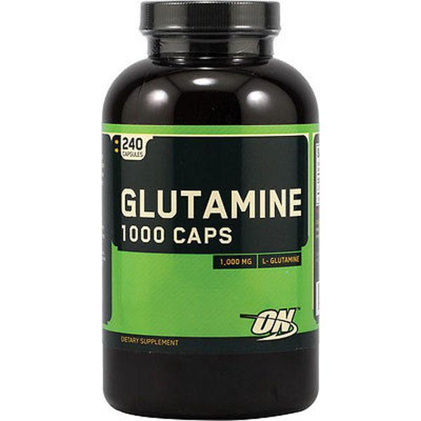 Optimum Nutrition Glutamine 1000mg 240 Caps - Supplements.co.nz