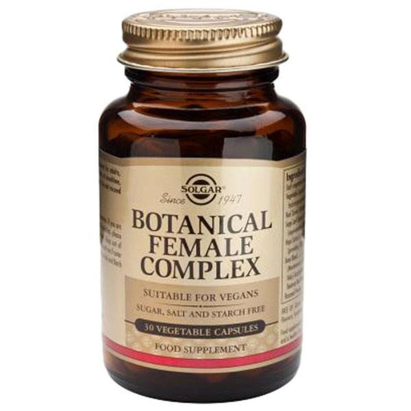Solgar Botanical Female Complex 30 Vegetable Capsules-Physical Product-Solgar-Supplements.co.nz