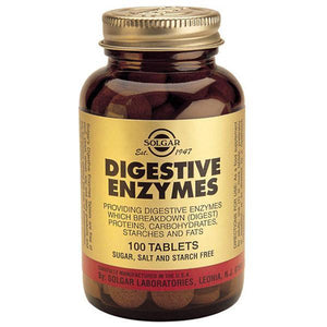 Solgar Digestive Enzymes 100 Tabs-Physical Product-Solgar-Supplements.co.nz
