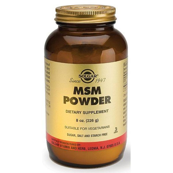 Solgar MSM Powder 226gm-Physical Product-Solgar-Supplements.co.nz