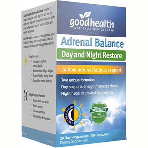 Good Health Adrenal Balance 60 Capsules-Physical Product-Good Health-Supplements.co.nz