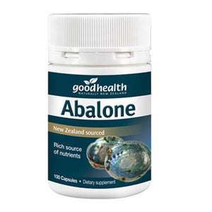 Good Health Abalone 100 Capsules - Supplements.co.nz