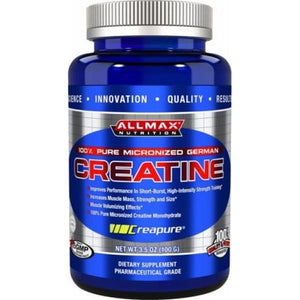 AllMax Nutrition Micronised Creatine 100g-Physical Product-Allmax-Supplements.co.nz
