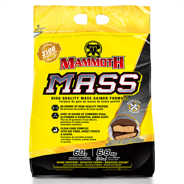 #5 Best Seller Mammoth Mass Weight Gainer 15lb