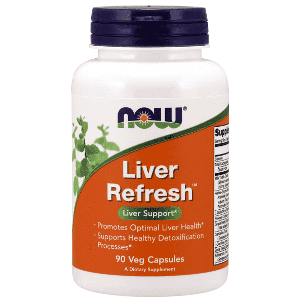 Now Foods Liver Refresh 90 Caps