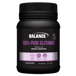Balance 100% Pure Glutamine 150g - Supplements.co.nz