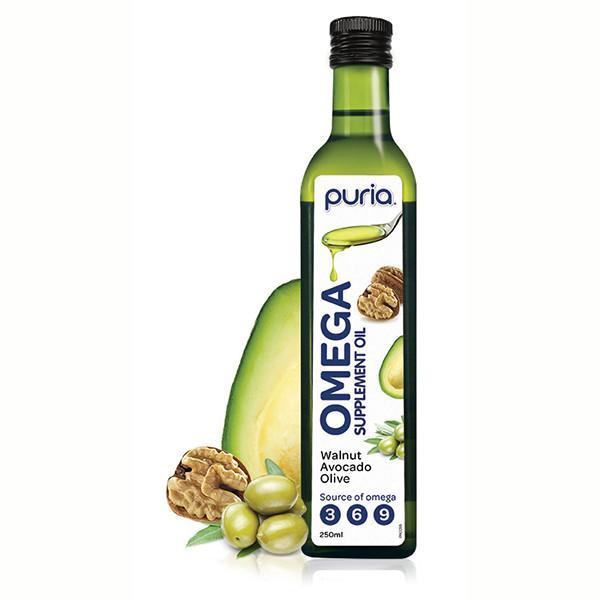 Puria Omega Supplement Oil 250ml - Supplements.co.nz