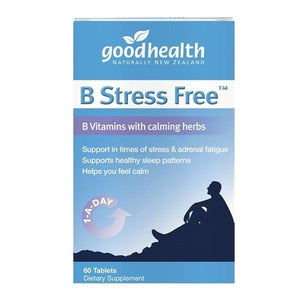Good Health B Stress Free 60 Tablets - Supplements.co.nz