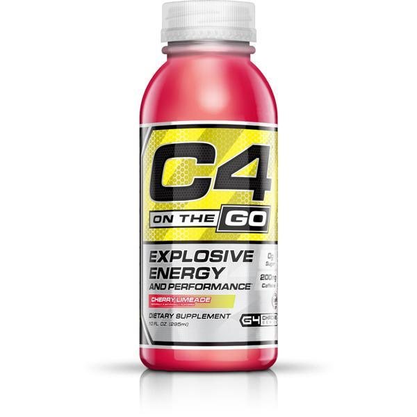 Cellucor C4 On The Go Pre-Workout Drink (295ml x 12) - Supplements.co.nz