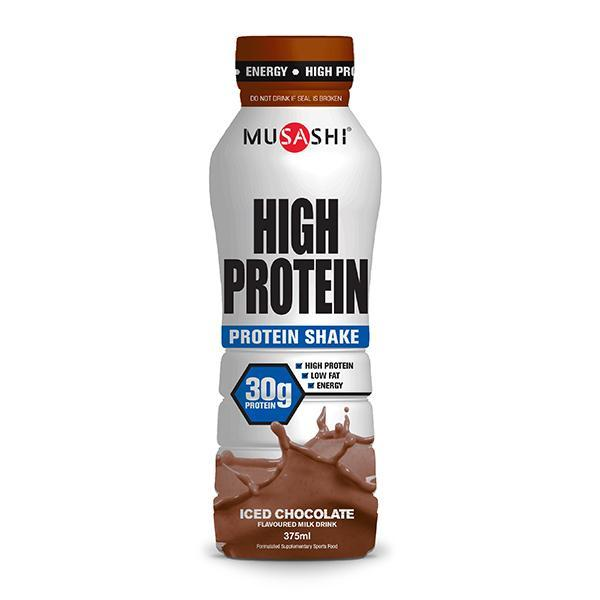 Musashi High Protein Shake Pack of 6 - Supplements.co.nz