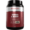 Musashi Shred & Burn Protein 900g