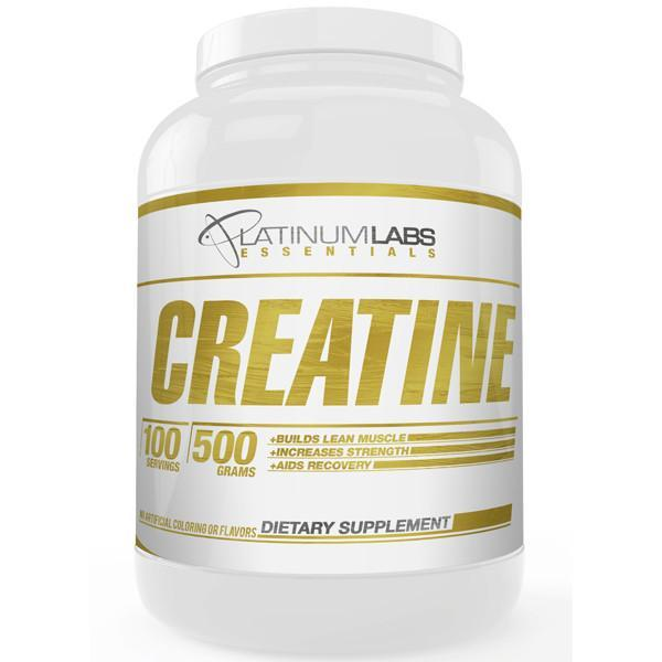 Platinum Labs Essentials Micronized Creatine Monohydrate 100 Servings-Physical Product-Platinum Labs-Supplements.co.nz