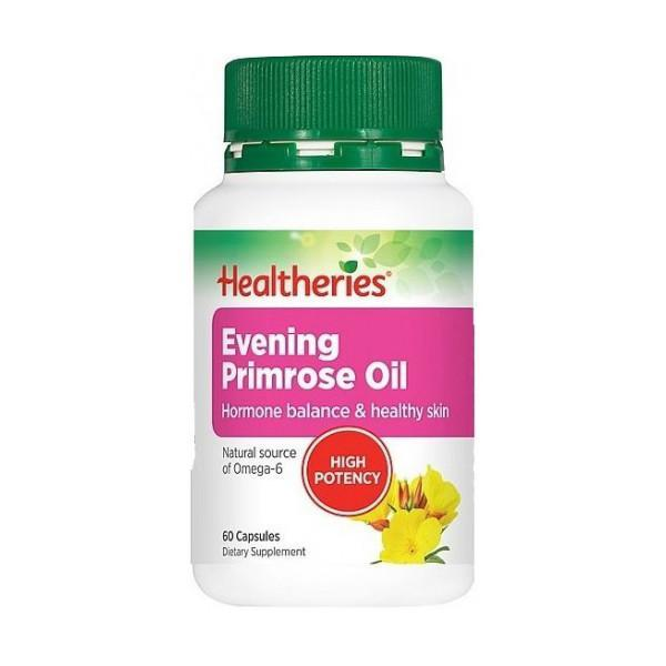 Healtheries Evening Primrose Oil 60 Capsules - Supplements.co.nz