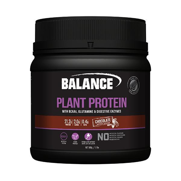 Balance Plant Protein 500g - Supplements.co.nz