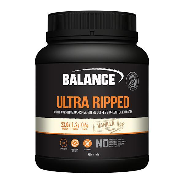 Balance Naturals Ultra Ripped Protein 750g - Supplements.co.nz