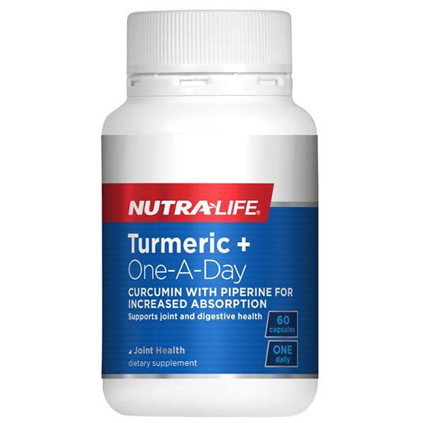 Nutralife Turmeric + One-A-Day 60 Caps - Supplements.co.nz