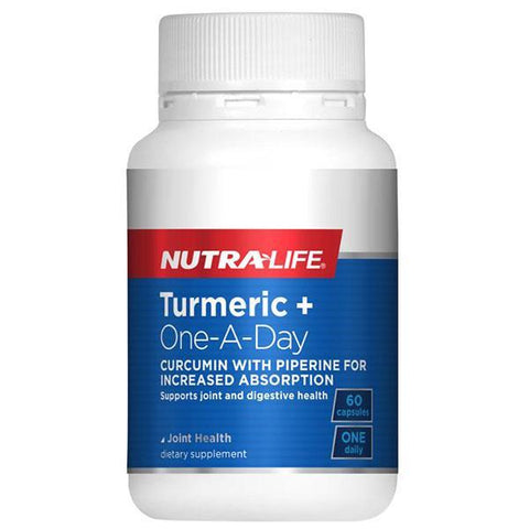 Nutralife Turmeric + One-A-Day
