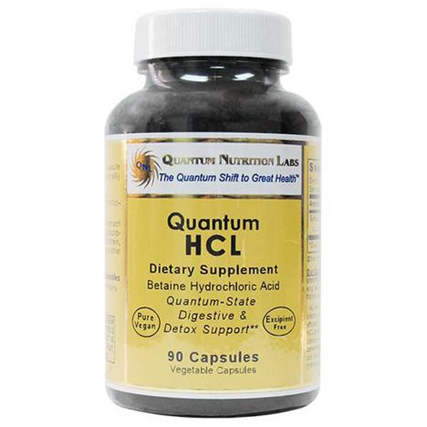 Quantum Nutritional Labs HCL 90 Capsules - Supplements.co.nz