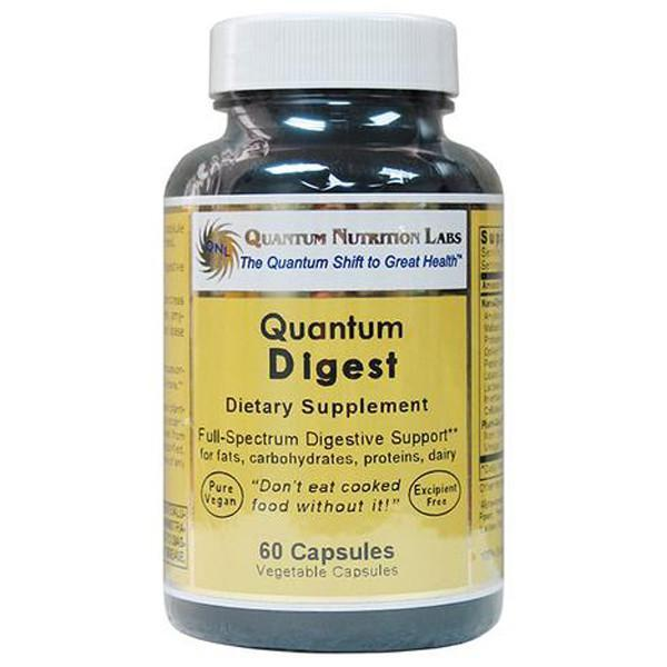 Quantum Nutritional Labs Digest 60 Capsules - Supplements.co.nz