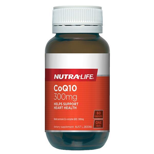Nutralife CoQ10 300mg 60 Capsules - Supplements.co.nz