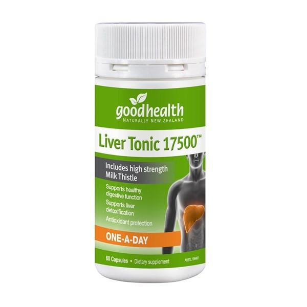Good Health Liver Tonic 17500 60 Capsules - Supplements.co.nz