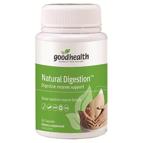 Good Health Natural Digestion 60 Capsules - Supplements.co.nz