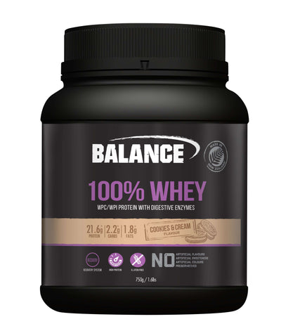 Balance NATURAL 100% Whey 750g - Supplements.co.nz