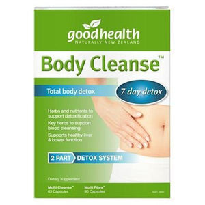Good Health Body Cleanse Total Detox - TwinPack - Supplements.co.nz