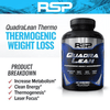 RSP QuadraLean Thermogenic 180 Caps