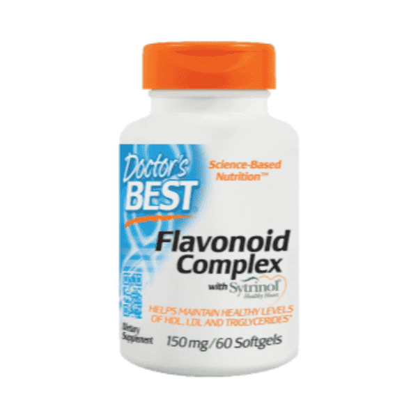 Doctor's Best Flavonoid with Sytrinol 150mg 60 Softgels