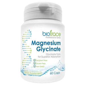 BioTrace Magnesium Glycinate 60 Capsules - Supplements.co.nz