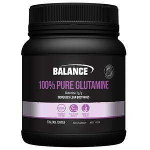 Balance 100% Pure Glutamine 500g - Supplements.co.nz