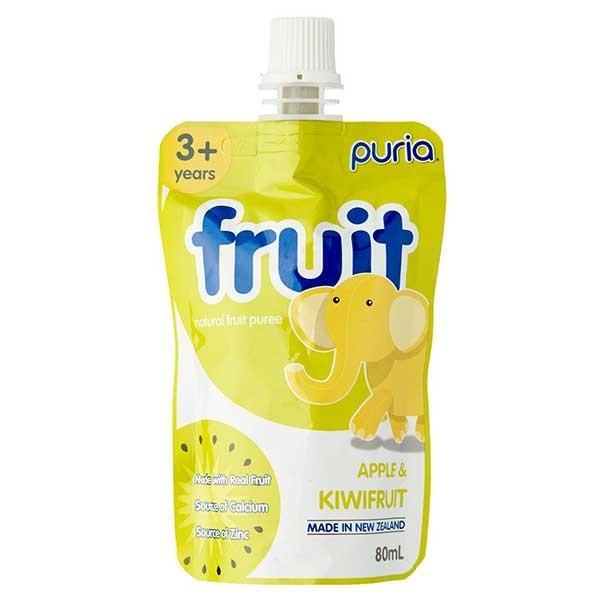 Puria Natural Fruit Apple Puree 80ml x 50 - Supplements.co.nz