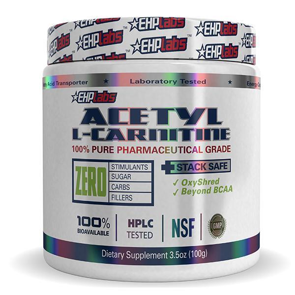 EHPLabs Acetyl L-Carnitine 100g - Supplements.co.nz